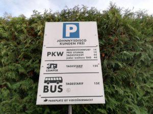 Parkgebühren Stille Nacht Oberndorf
